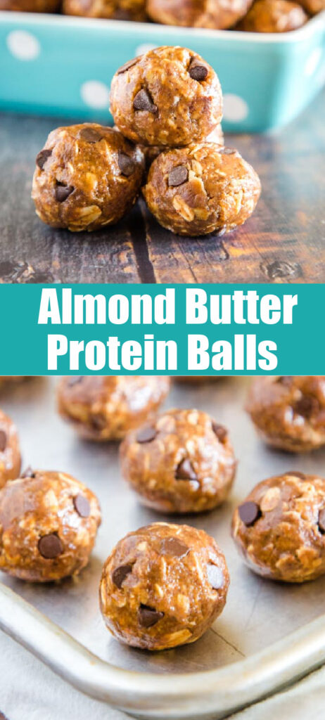 Protein Balls collage for pinterest