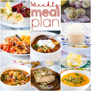 square collage for meal plan