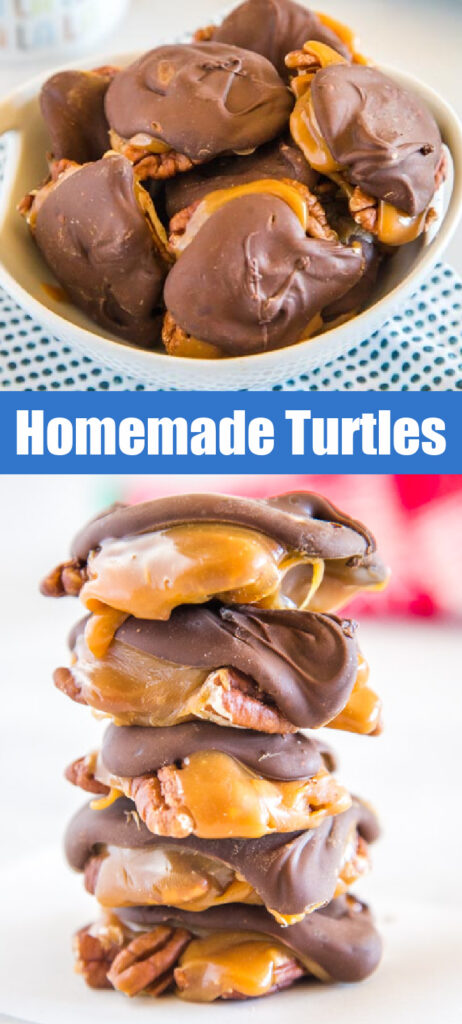 pinterest college of turtle candy stacked and in a bowl