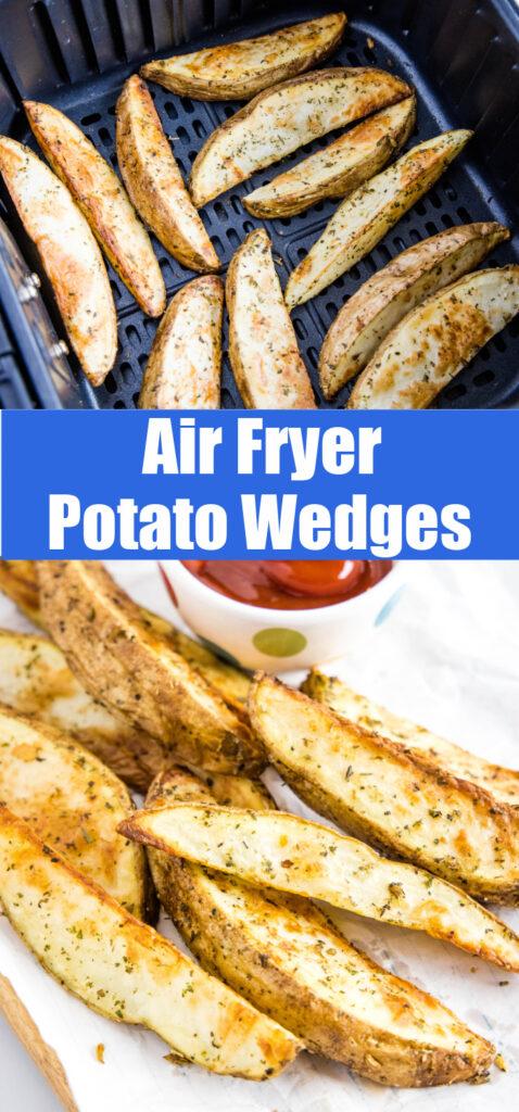 pinterest college of air fryer potato wedges