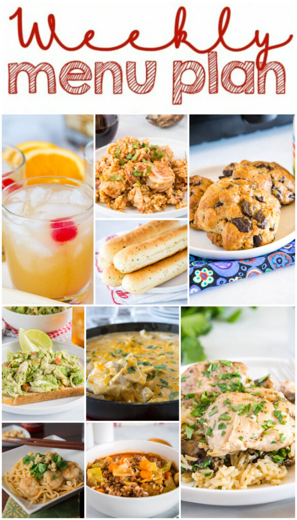 meal plan ideas collage