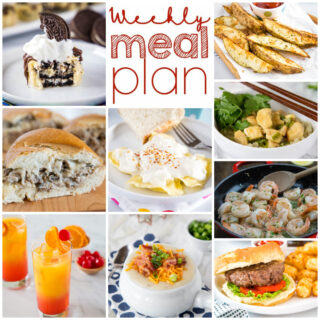 weekly meal plan dinner ideas college