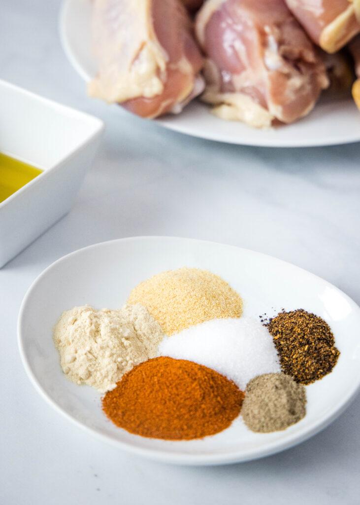 chicken leg ingredients