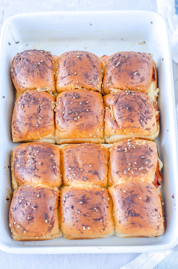 baked ham sliders