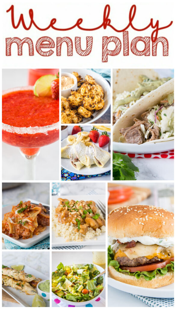 meal plan collage