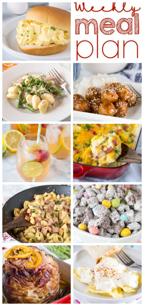 meal plan pinterest