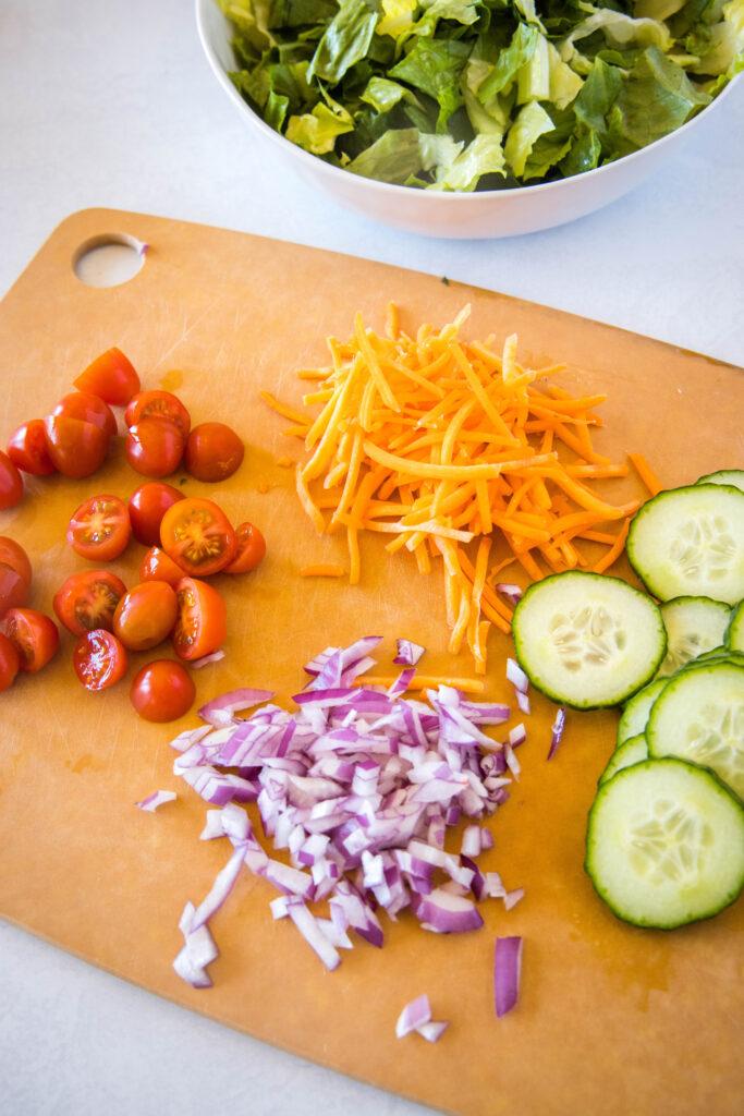 side salad ingredients
