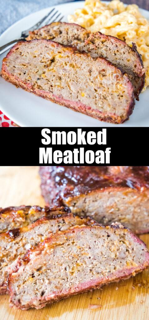close up sliced meatloaf