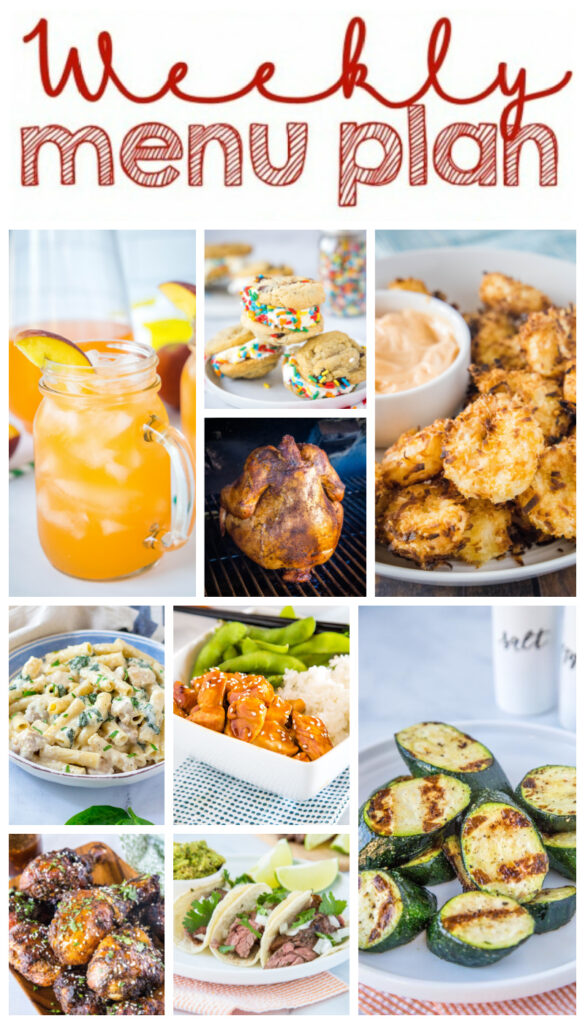 dinner ideas on square collage