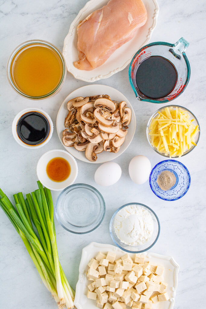 hot and sour soup ingredients